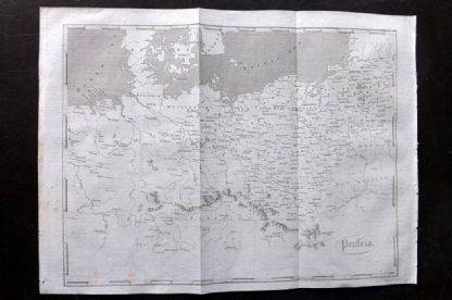 Encyclopaedia Perthensis 1816 Antique Map. Prussia